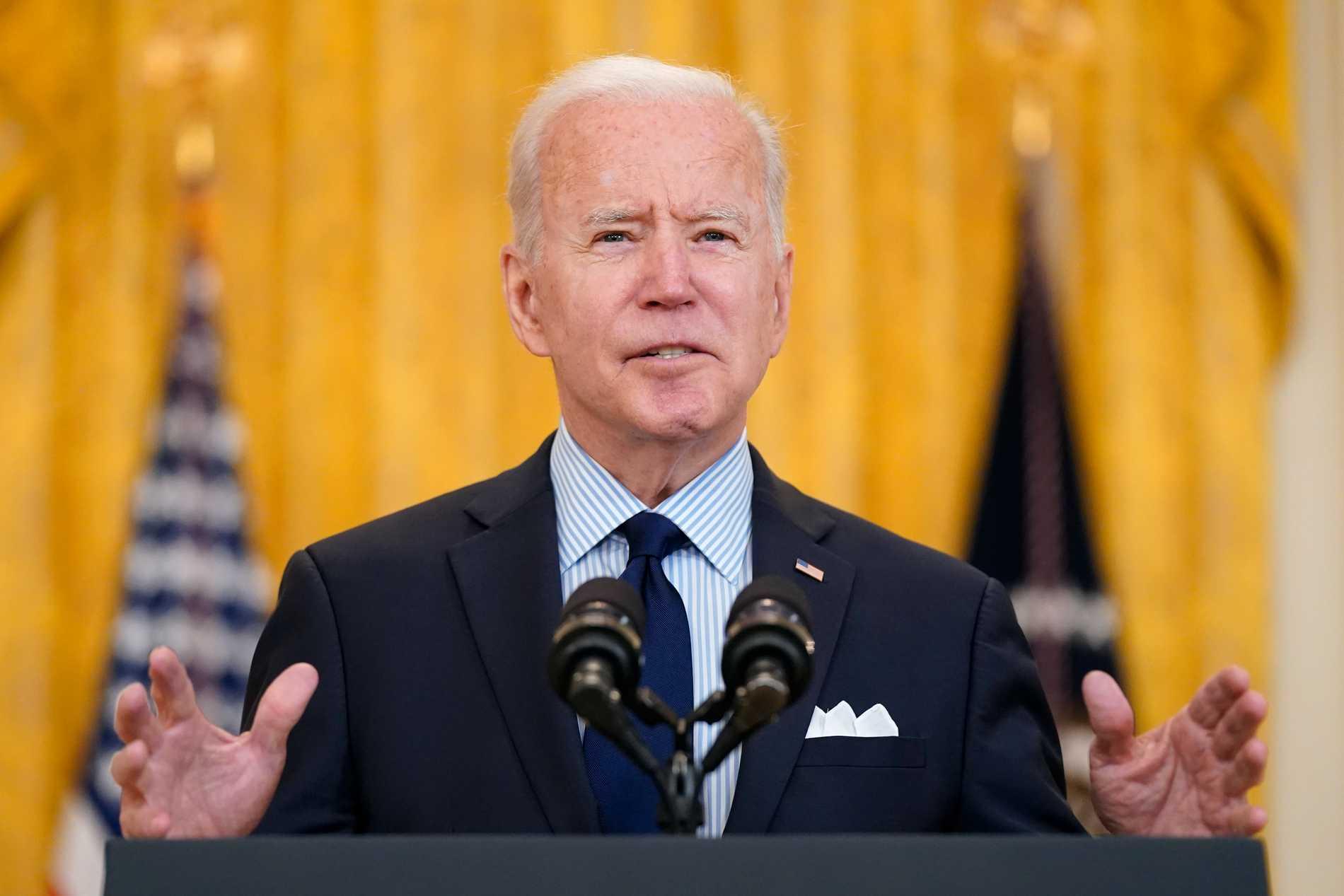 Joe Biden införde exportförbud på råvaror för vaccintillverkning till Indien, men kan nu lätta på patenten.