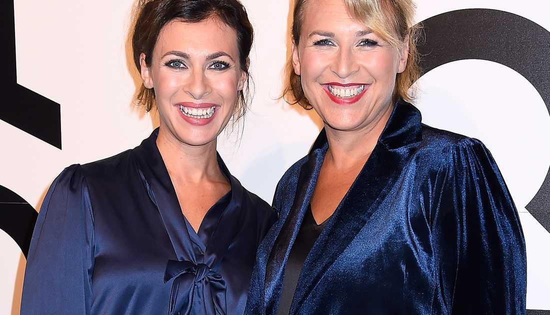 Amanda Schulman och Hannah Widell.