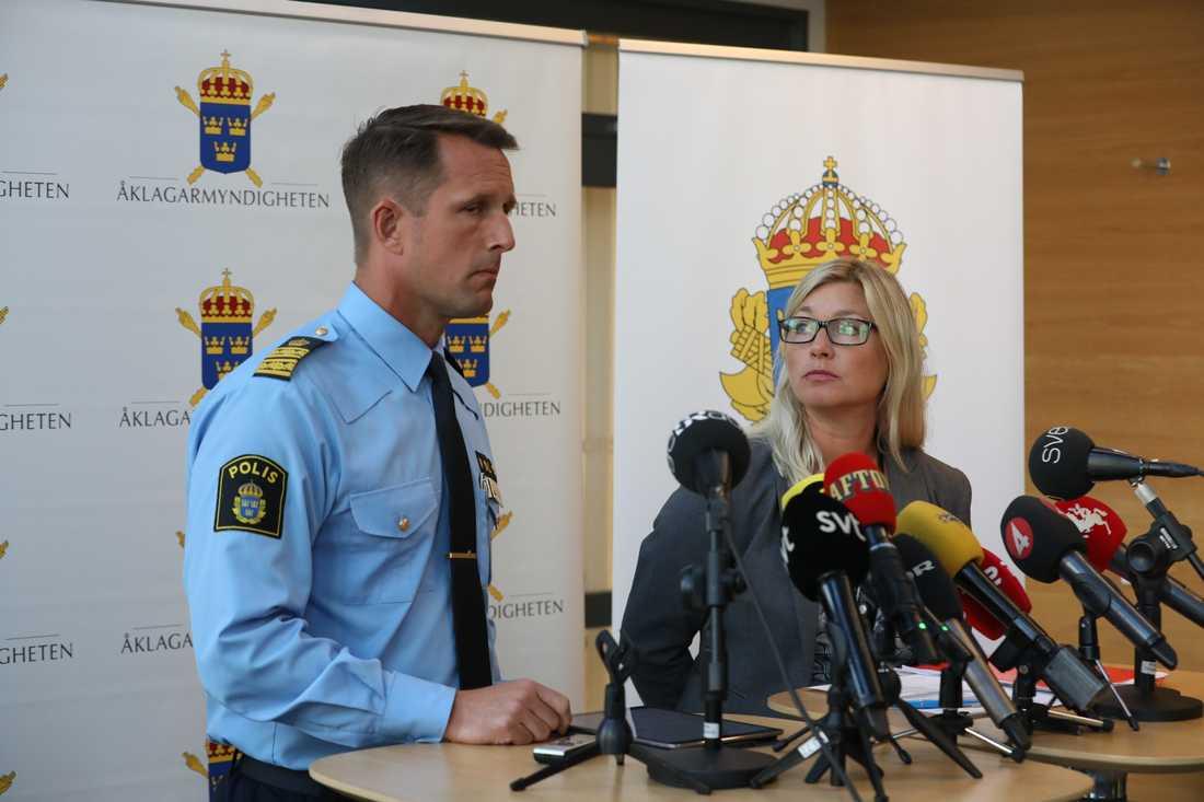 Polisen håller pressträff om det mordet på kvinnan i Malmö.
