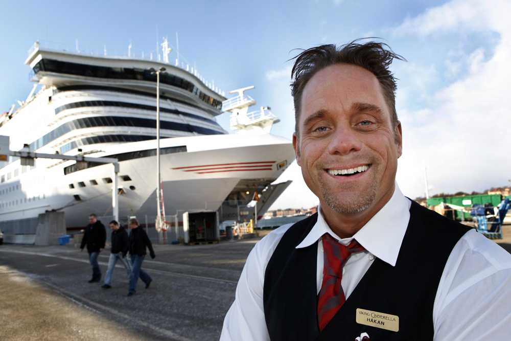 """Håkan Hallin blev """"Färjan-Håkan"""" efter sin medverkan i realityserien """"Färjan"""" som utspelade sig på en Ålandsbåt."""