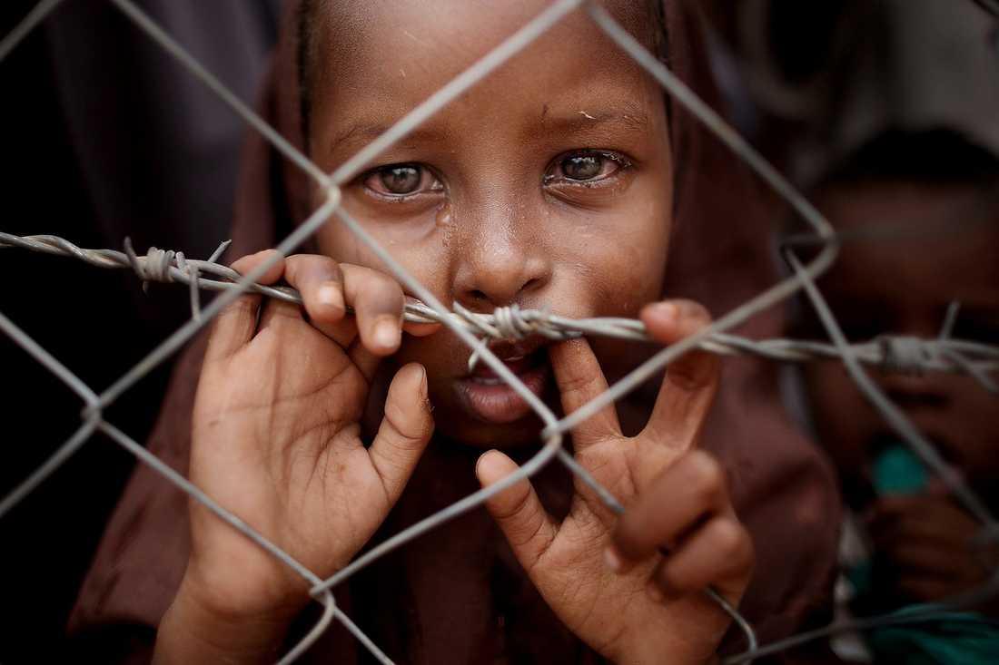 Tårar mättar inte barn.