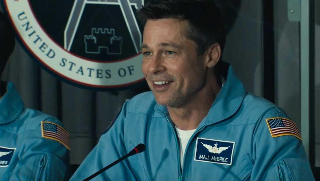 "Brad Pitt i ""Ad astra""."