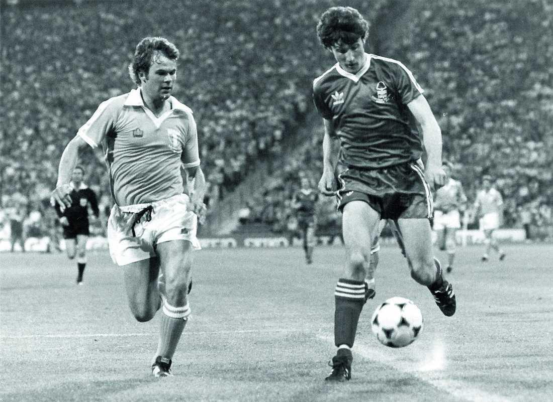 Magnus Andersson och Gary Birtles.