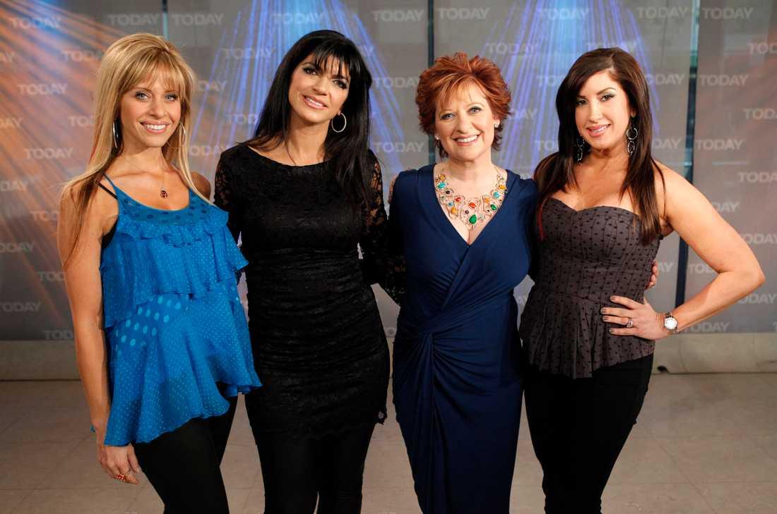 "Dina Manzo, Teresa Giudice, Caroline Manzo, och Jacqueline Laurit från ""Real Housewives New Jersey""."