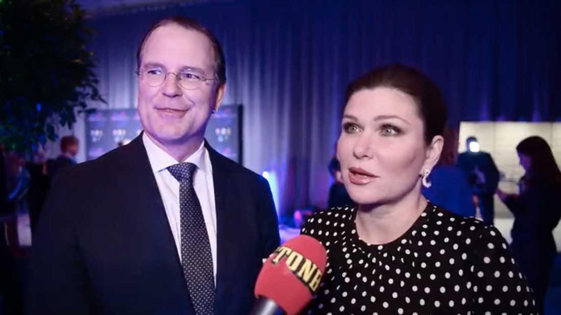 Anders Borg och Dominika Peczynski.