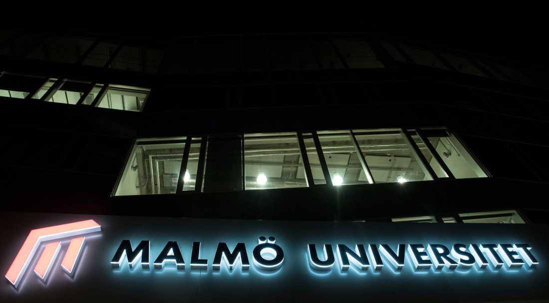 Malmö universitet. Arkivbild.