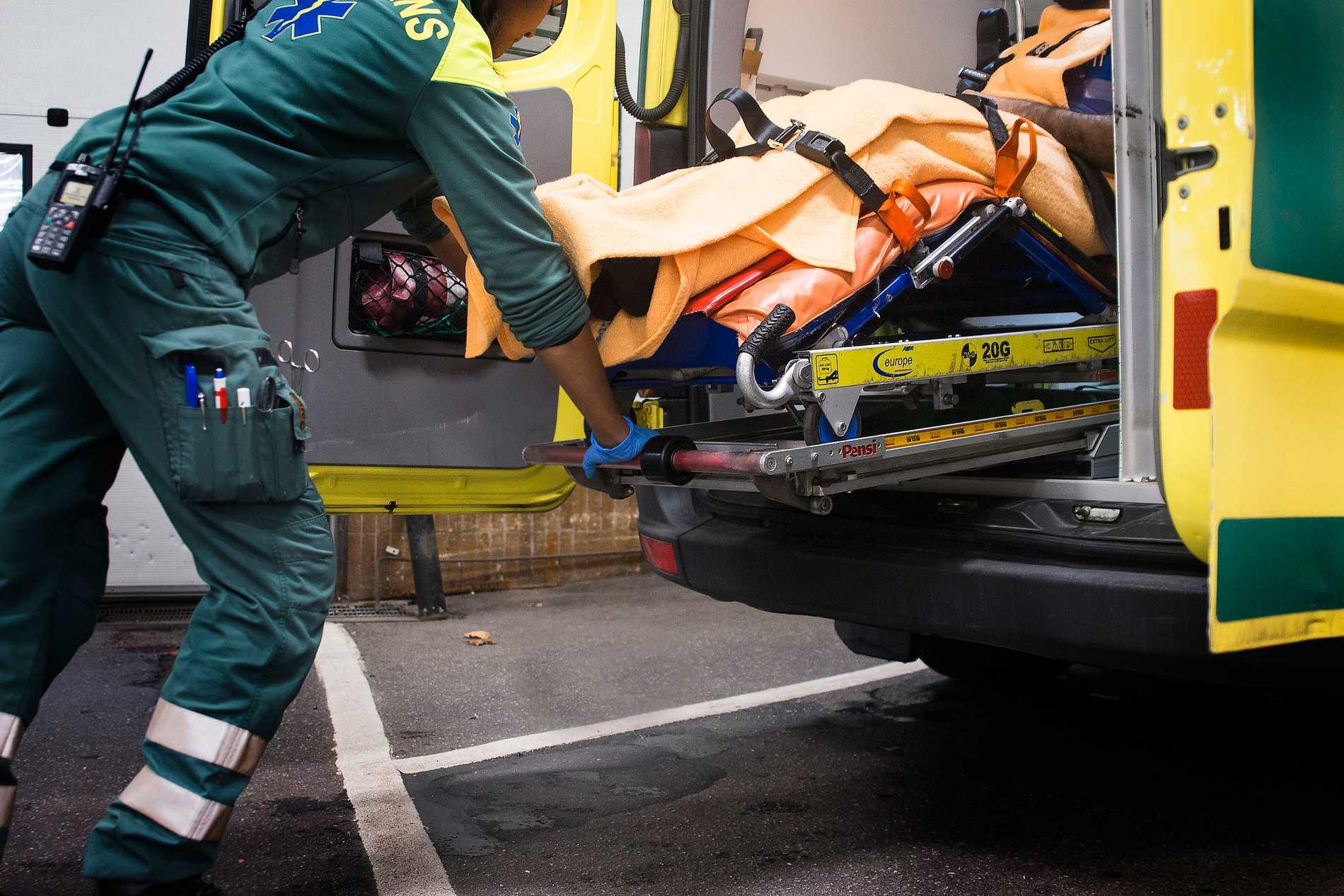 Fler läggs in på sjukhus i Stockholms län efter fallolyckor än på sjukhus i Gävleborgs län. Arkivbild.
