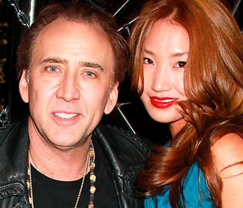 Nicolas Cage och Alice Kim.