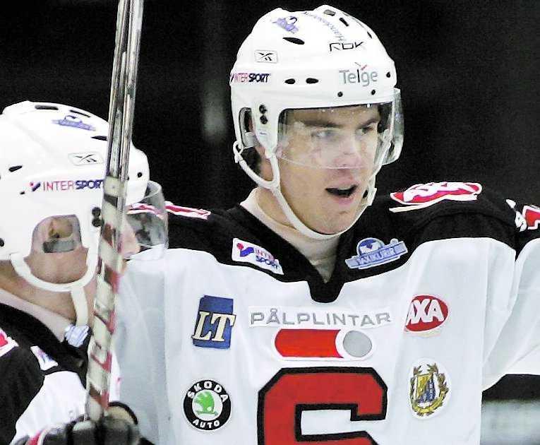 KAN NÅ DRÖMMEN Linus Videll har stora förhoppningar på att spela i NHL till hösten.