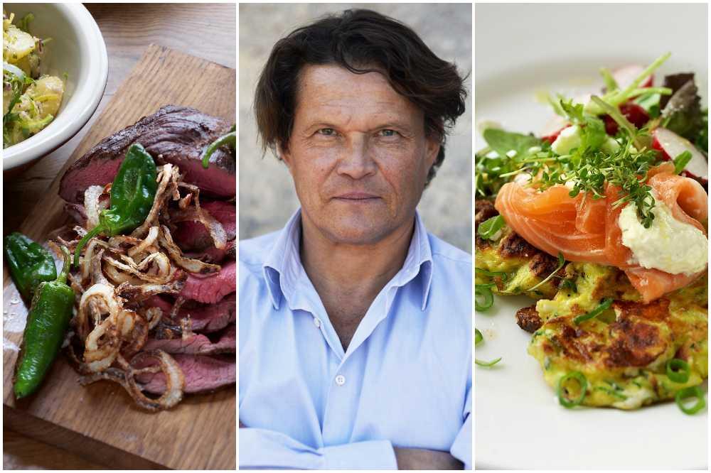 Okonstlat och enkelt i Per Morbergs nya kokbok.