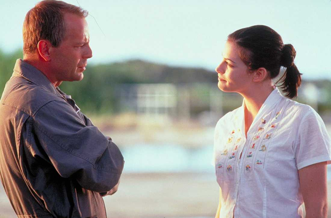 """Bruce Willis och Liv Tyler i """"Armageddon"""" (1998)."""