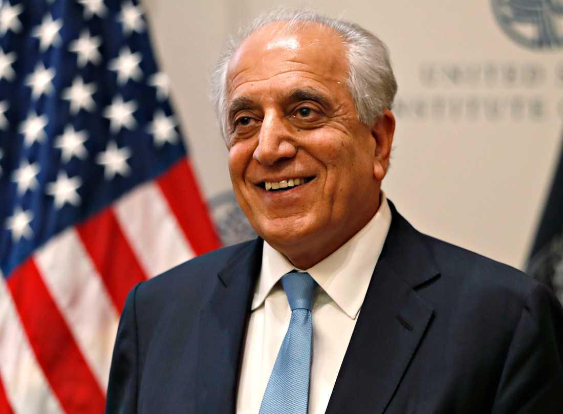 USA:s särskilde Afghanistansändebud Zalmay Khalilzad håller i stora delar av förhandlingarna med Afghanistans talibanrörelse i Doha.