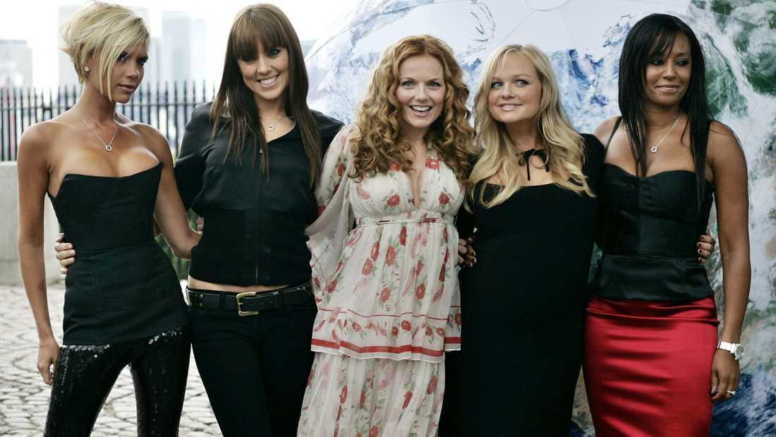 Spice Girls vid en återförening 2007.