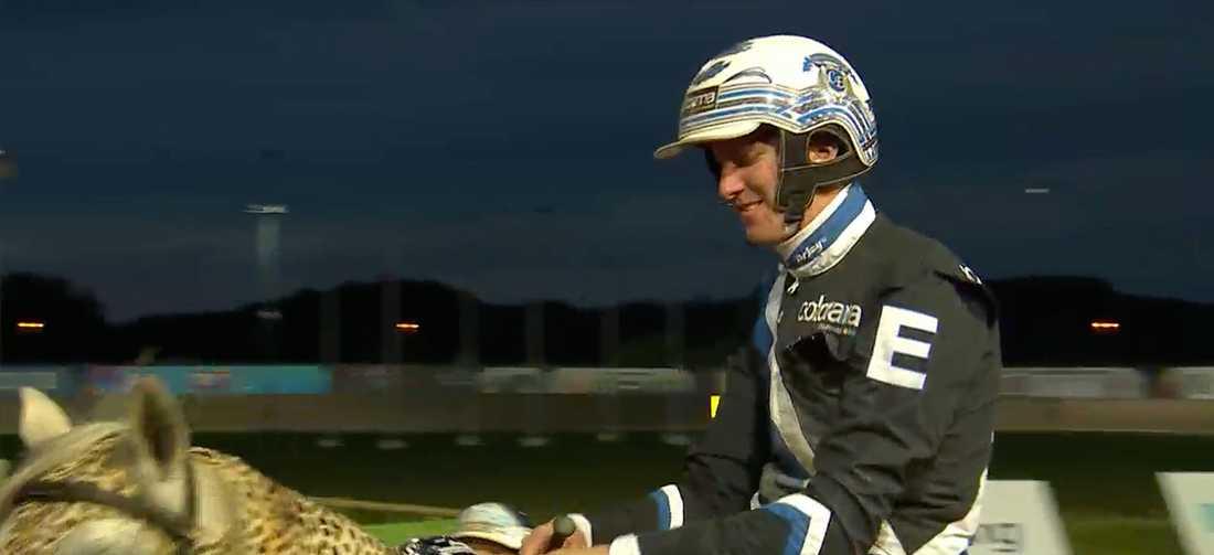 Christoffer Eriksson vann Kungapokalen med Diamanten. Under torsdagskvällen vann han nästa storlopp med hästen.