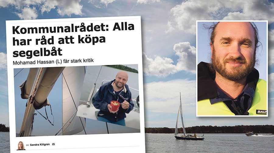 Är Mohamad Hassan lämplig att företräda alla Uppsalaborna? Även de fattiga? Det frågar sig seglaren Simon Vinokur.