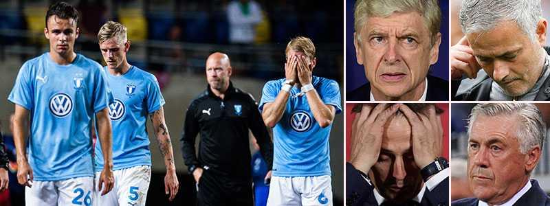 Malmö FF åkte ur CL-kvalet på bortamål mot Vidi. Flera av Europas stora tränare vill nu ändra bortamålsregeln.