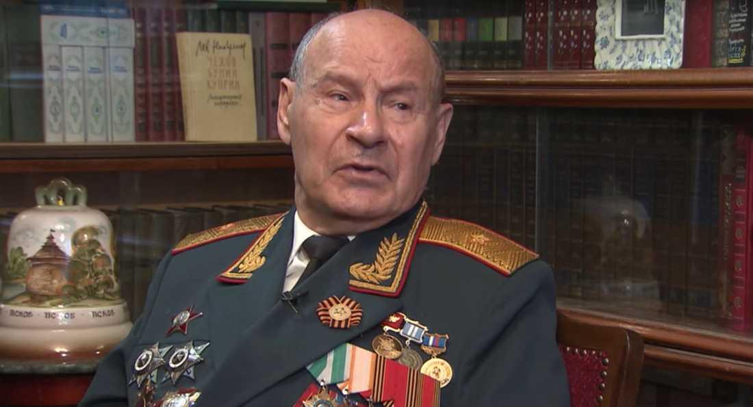 Generalmajor Nikolaj Tarakanov.