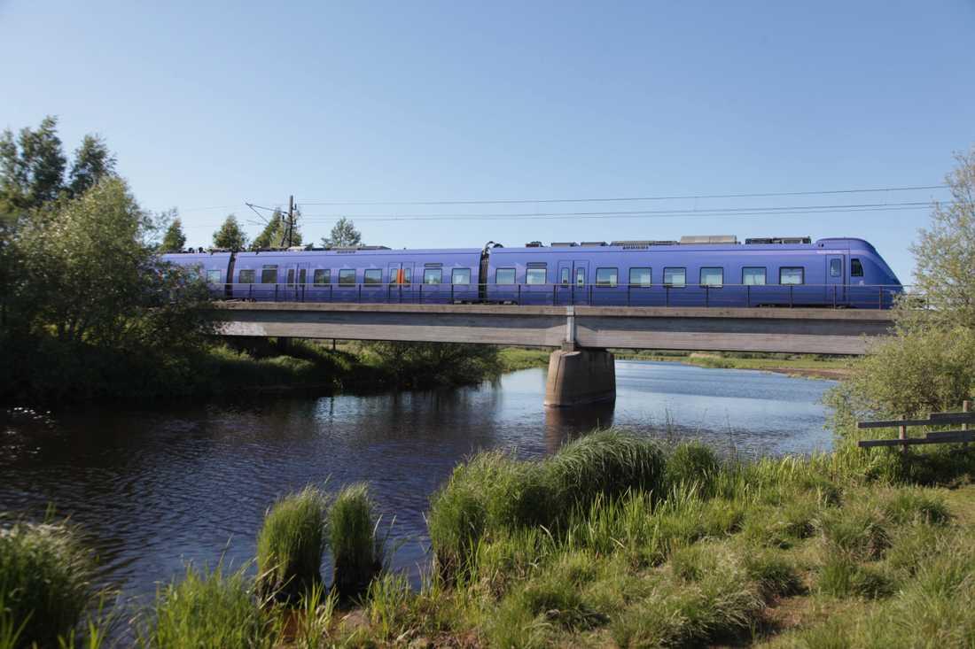 En olycka ställer till problem i tågtrafiken. Arkivbild.