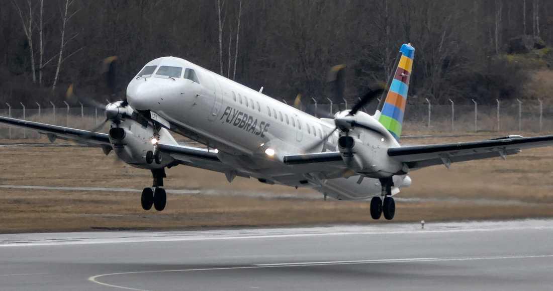 Bara några enstaka flyg går numera från och till Malmö Airport.