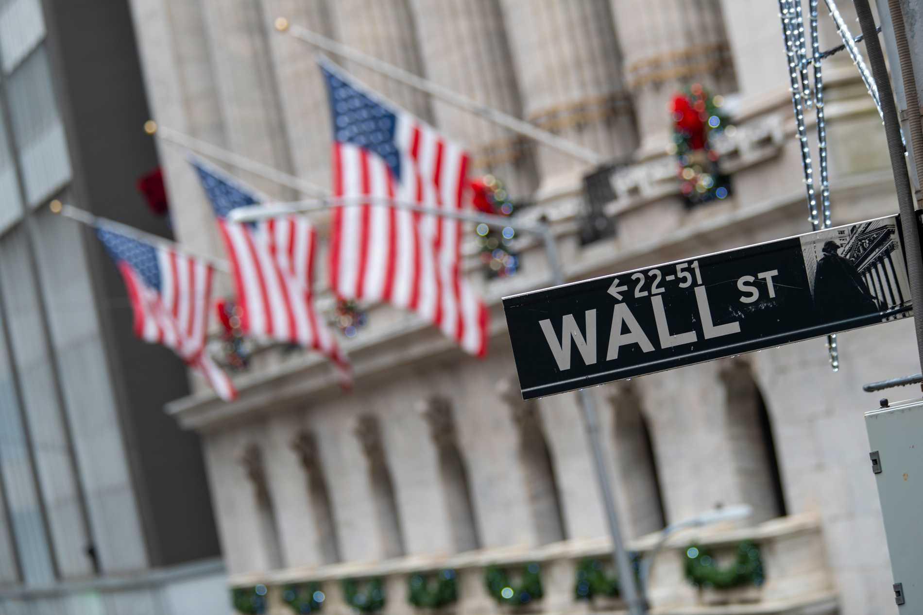 Uppåt på Wall Street