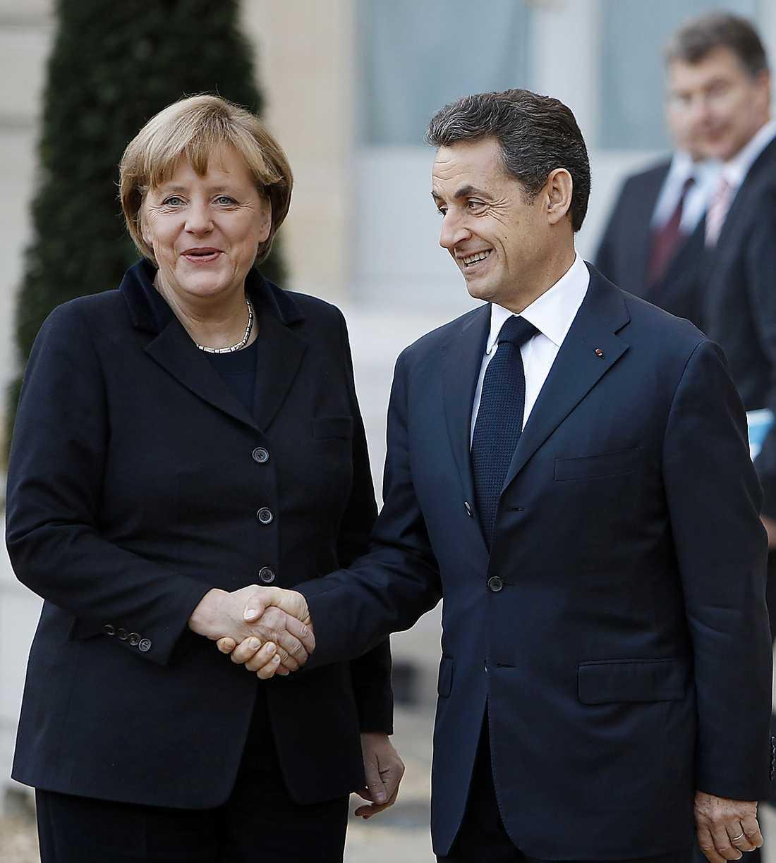MAKTPAKTEN Merkel och Sarkozy visar vem som bestämmer.