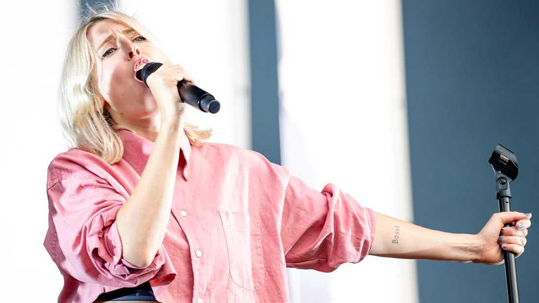 Veronica Maggio spelar någonstans i Stockholm 29 augusti. Arkivbild.