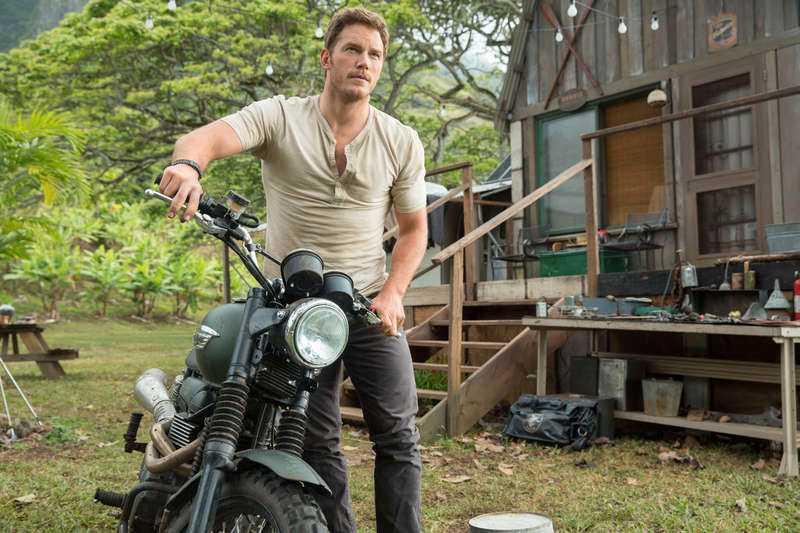 "Chris Pratt i ""Jurassic World""."