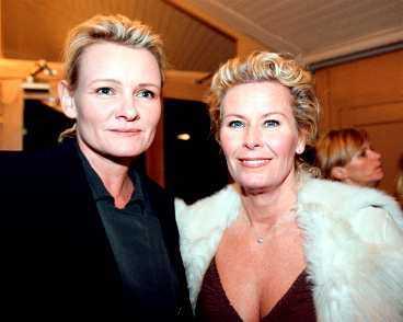 Kändistätt Eva Dahlgren och Efva Attling...