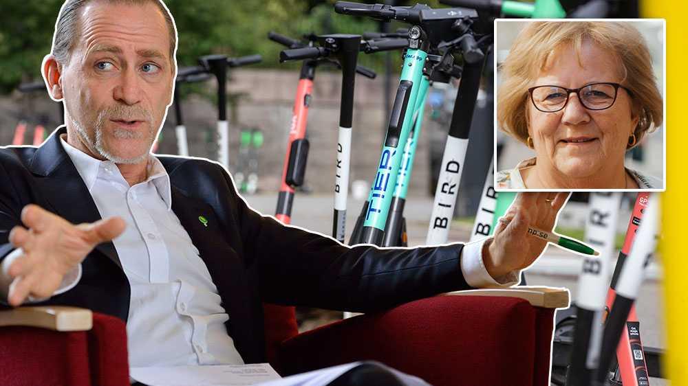 Styret, med trafikborgarrådet Daniel Helldén i spetsen, har konsekvent visat att det är viktigare att värna elsparkcykelbolagen än att ta hänsyn till vår säkerhet och framkomlighet. Gång på gång har han skyllt ifrån sig,  skriver debattören.