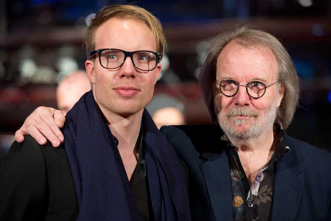Benny Andersson och sonen Ludvig har gjort filmen ihop.