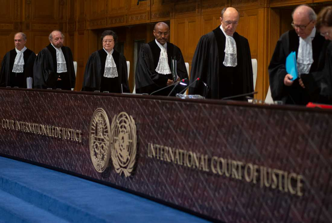 Internationella domstolen i Haag har beordrat Myanmar att upphöra med förföljelse av minoriteten rohingya. Bangladesh, som tagit emot många flyktingar, verkar backa från planen att förflytta dem till en nästintill obebodd ö. Arkivbild.