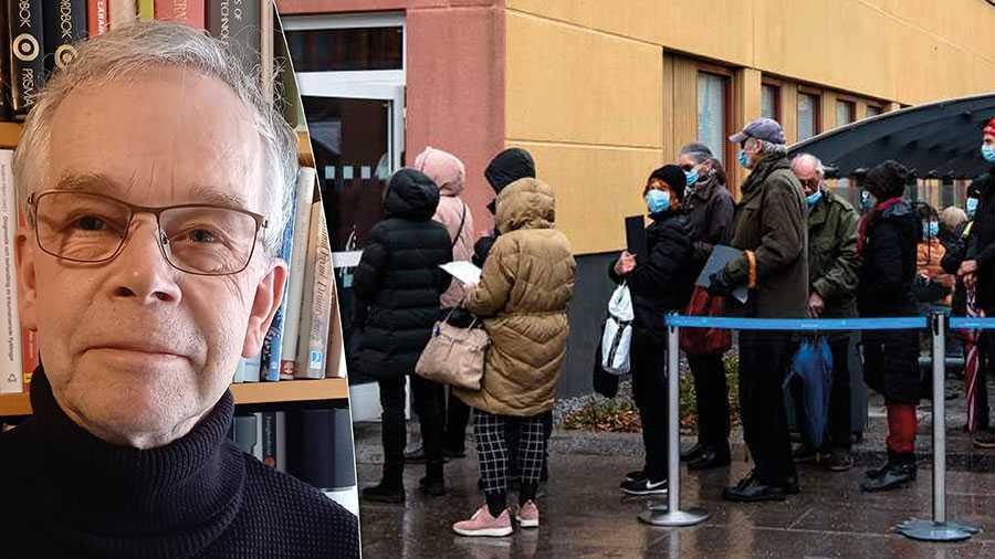 Krisen i vaccinationsplaneringen fortsätter. Region Stockholm borde kanske vända sig till Röda Korset. Där finns erfarenhet av att organisera massvaccineringar under kaotiska förhållanden, skriver Peter Hagman. Bilden är från Sabbatsbergs sjukhus i söndags där regionen plötsligt erbjöd drop in-vaccinering.