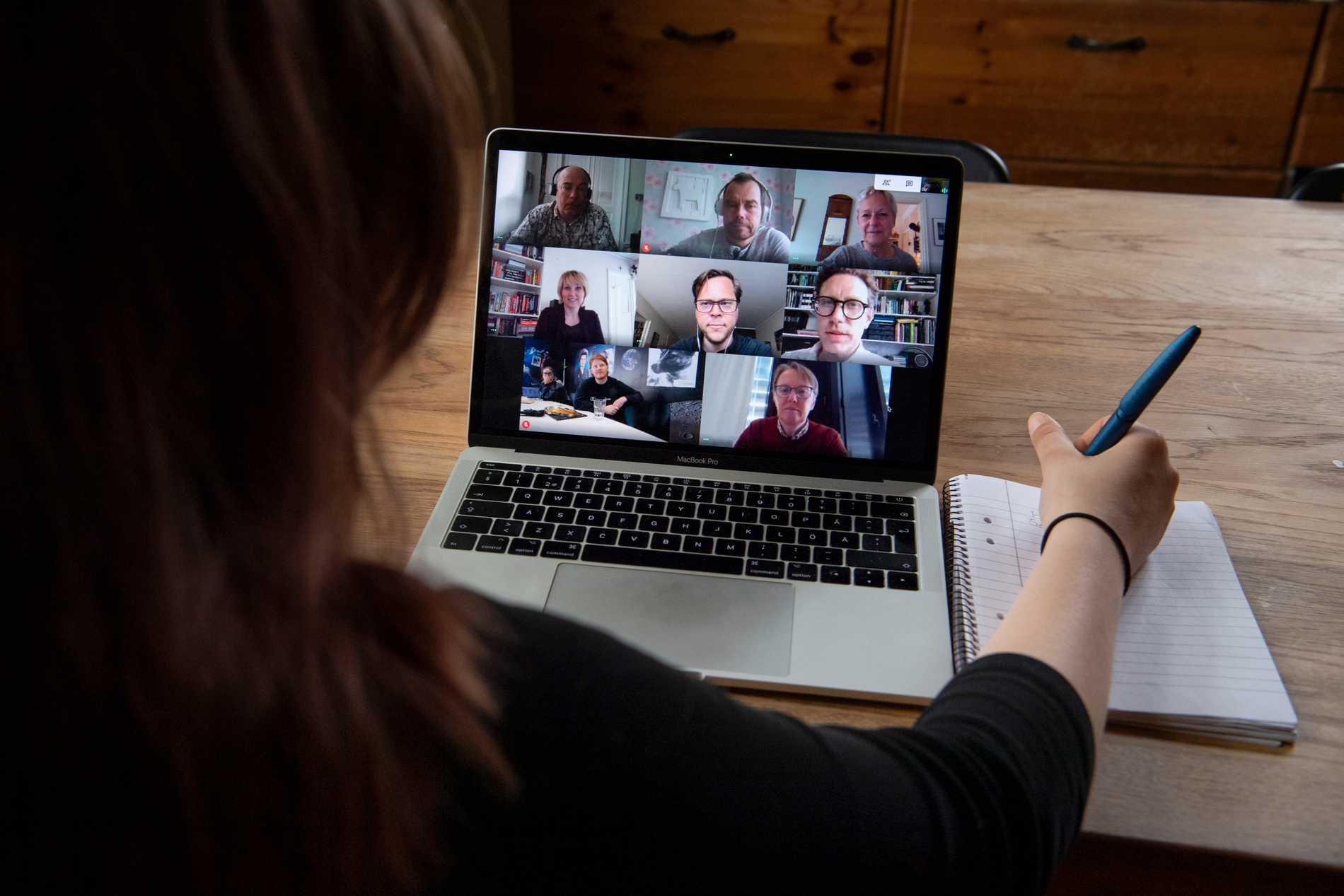 Explosionsartad ökning för videokonferenser