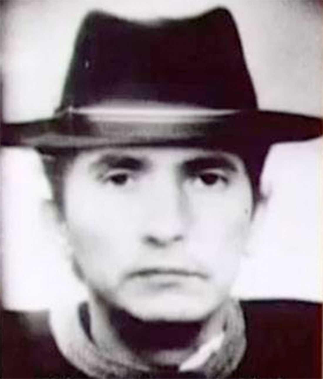 Tyska polisens fantombild av hur gärningsmannen som mördade Blanka Zmigrod ska ha sett ut.