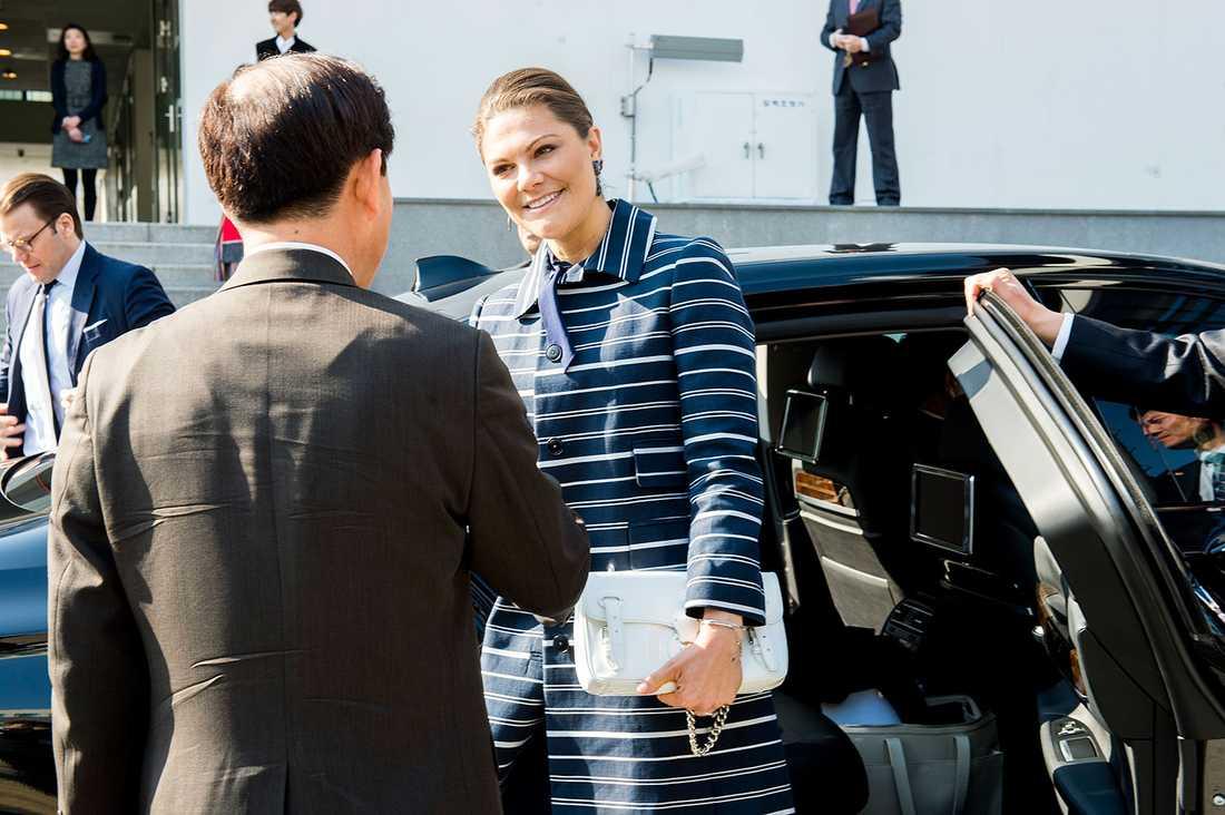 """""""Att knyta kontakter är alltid viktigt"""" säger kronprinsessan Victoria."""