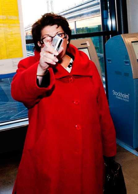 Ansvarig Arbetsförmedlingens generaldirektör, Angeles Bermudez-Svankvist, är i blåsväder igen och även hon håller sig undan. Bilden är tagen vid ett tidigare tillfälle.