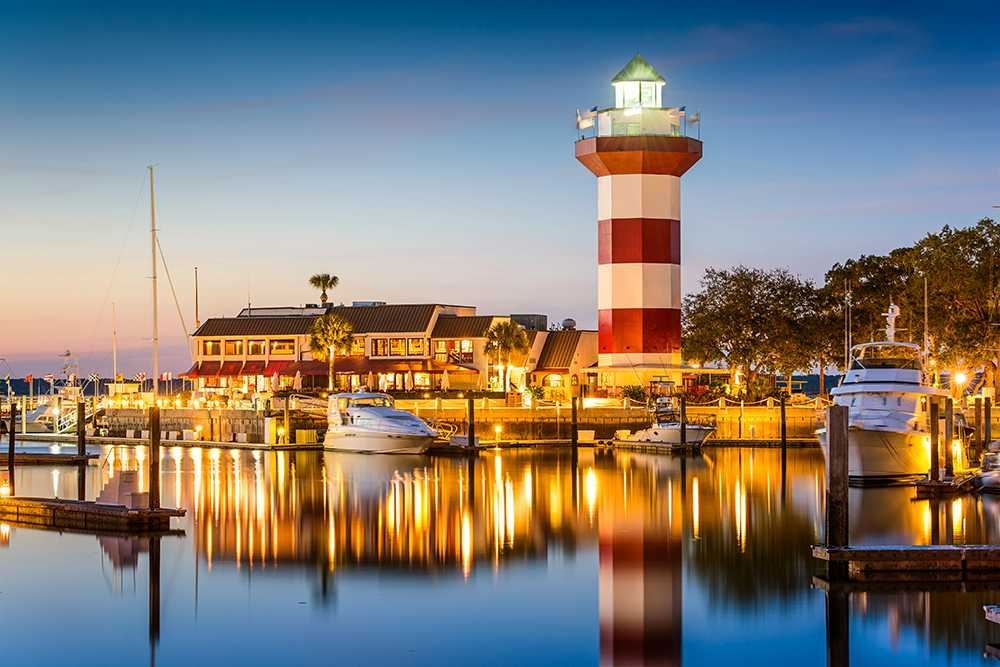 Hilton Head Island, South Carolina på andraplats
