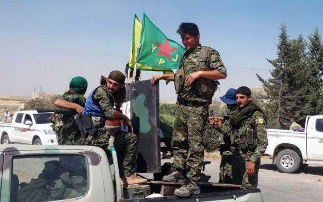 Kurdiska YPG.