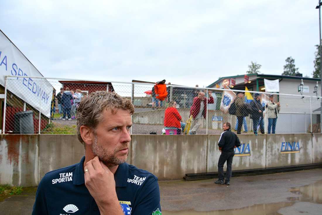 Stefan Andersson Skill, lagledare för Piraterna.