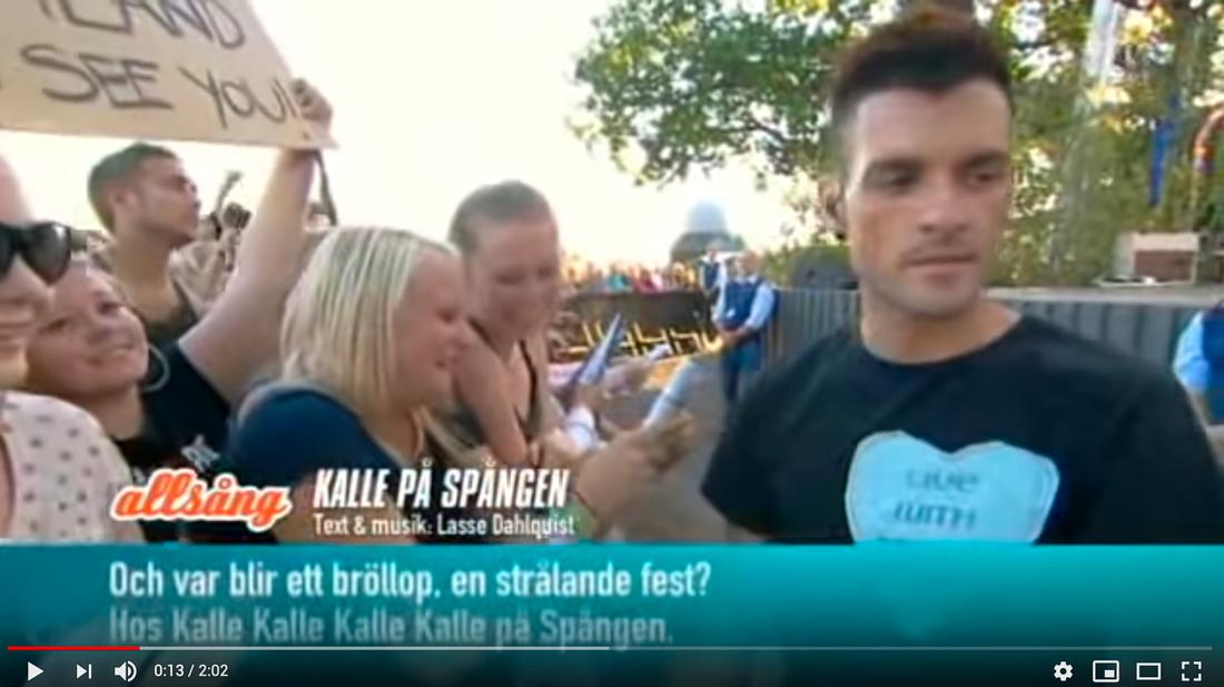 """""""Allsång på Skansen"""" med Dead By April 2012."""