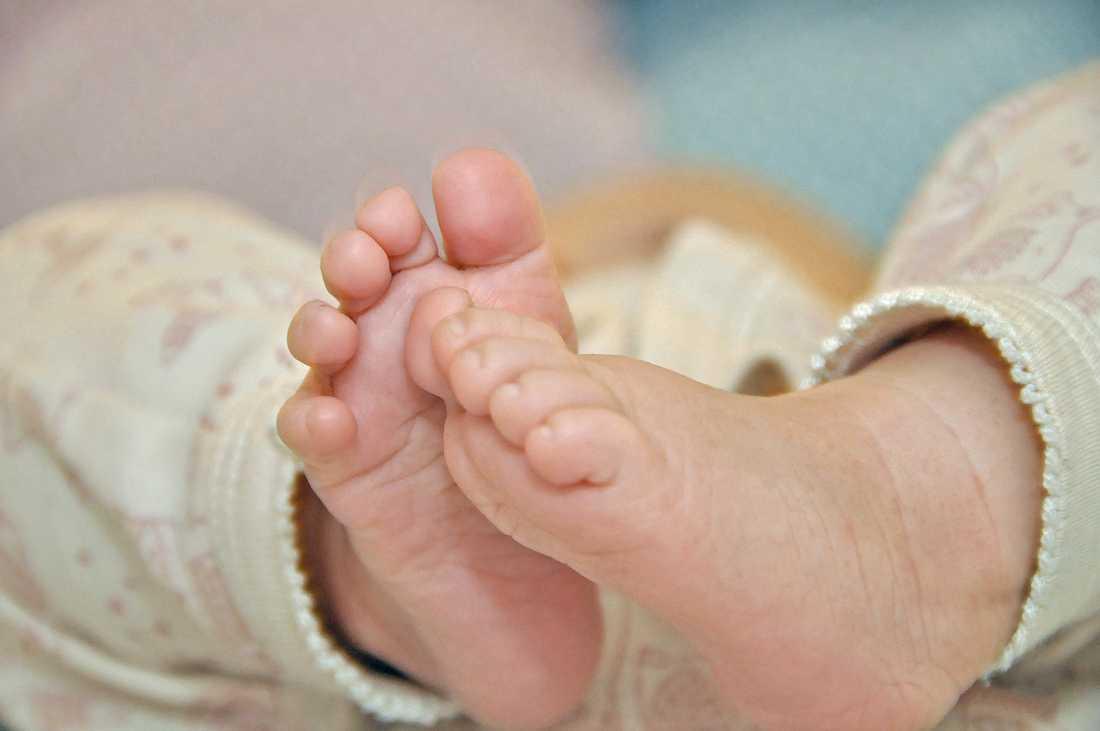 Ett 27-år gammalt embryo har efter lyckad IVF-behandling resulterat i ett nyfött barn. Genrebild.