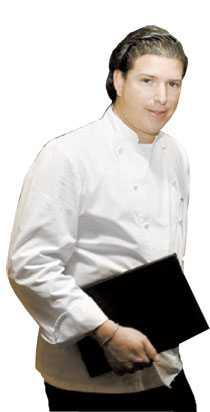 Pontus Frithiof och hans restaurangs hemsida.