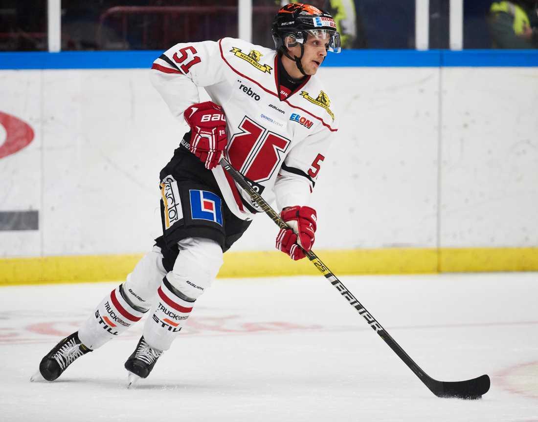Örebros Kristian Näkyvä drabbades av testikelcancer men mår i dag bra och har kunnat börja träna så smått. Arkivbild.