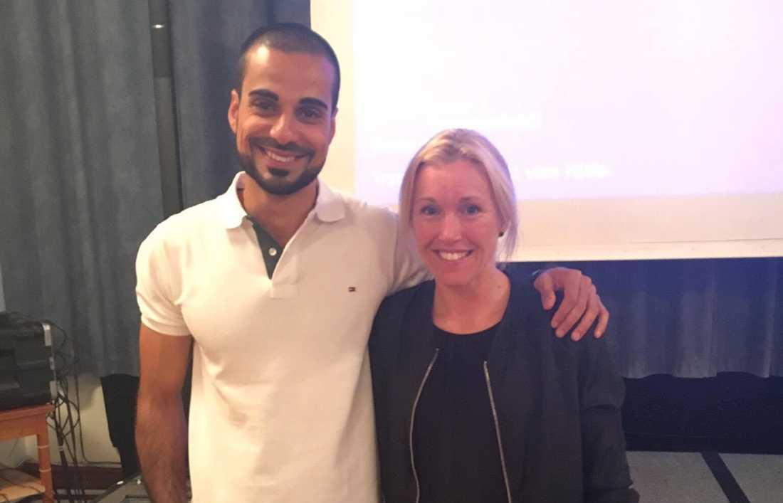 Mohammed Al-Hakim och Sara Persson