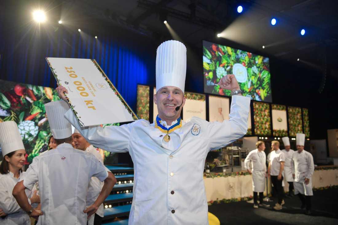 Förra året knep Martin Moses silvret i Årets kock och i år tog han hem segern.