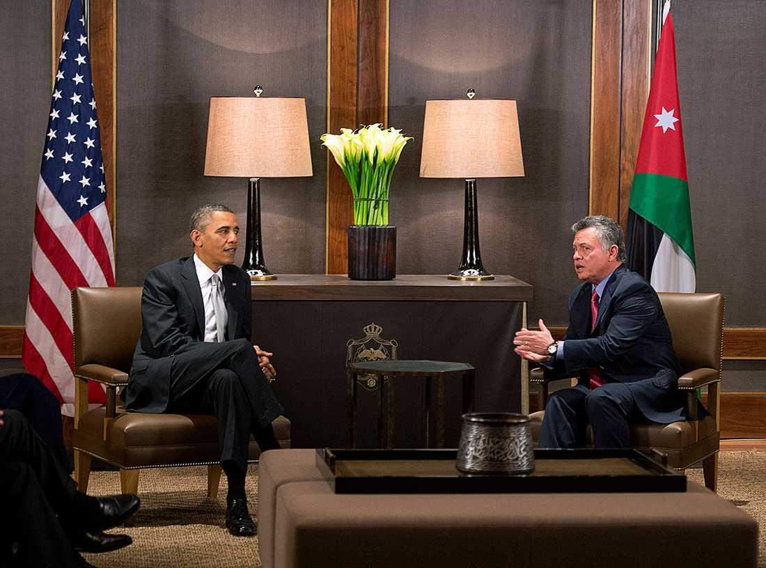 Besöket i Jordanien avslutar Obamas Mellanösternresa.