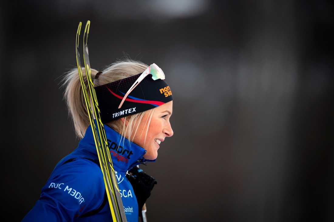 Frida Karlssons nästa tävling ser ut att bli i Davos 12–13 december. Arkivbild.
