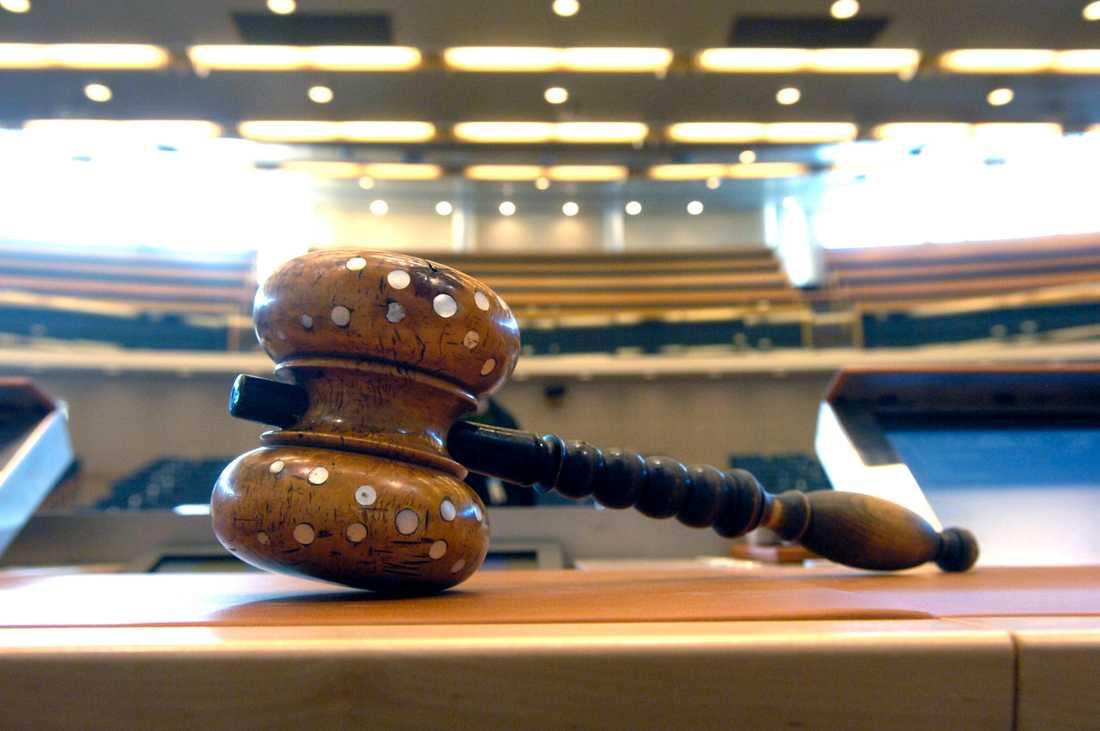 Riksdagen sade ja till en ny lag om tillträdesförbud i butik. Arkivbild.