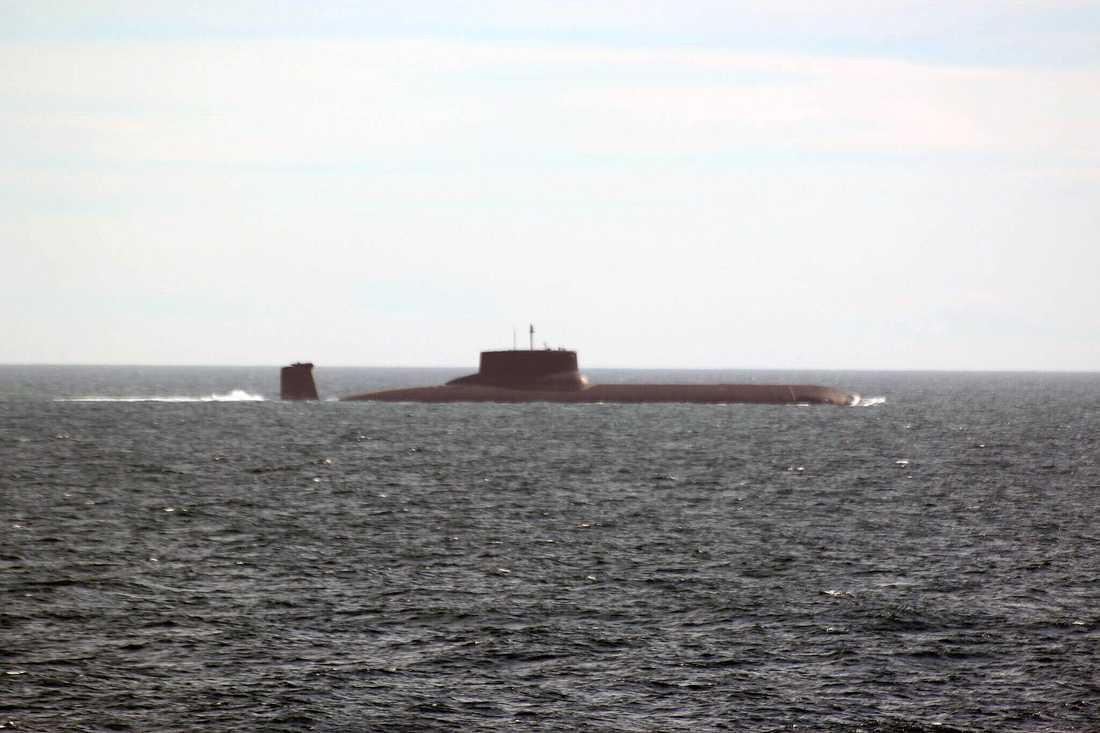 Ubåten Dmitrij Donskoj.