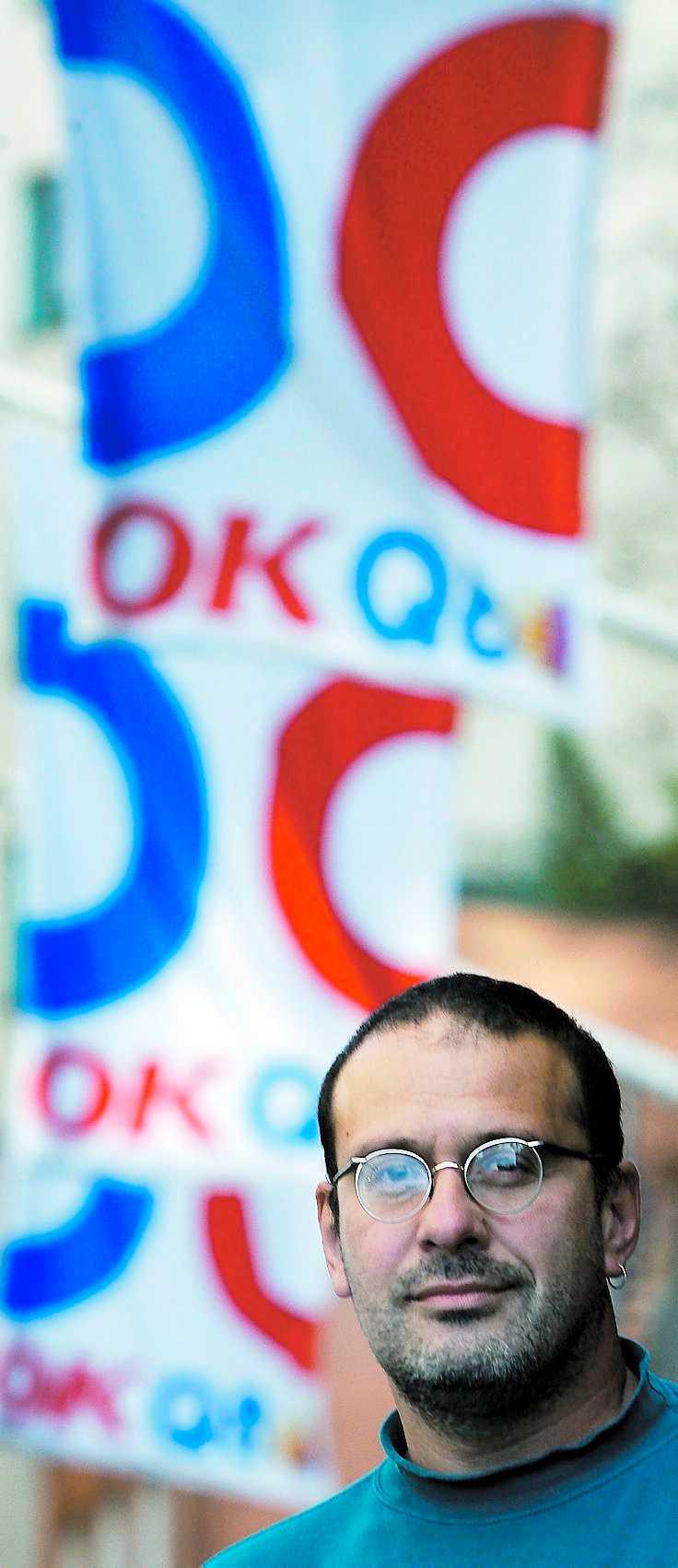 """granskar """"Det här är ett sätt att lura miljömedvetna konsumenter"""", säger Dima Litvinov på Greenpeace om OKQ8:s satsning på biodiesel."""